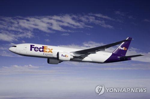 페덱스 항공기[연합뉴스 자료사진]