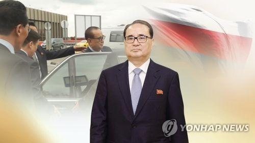 북한 외교총책 리수용(CG)