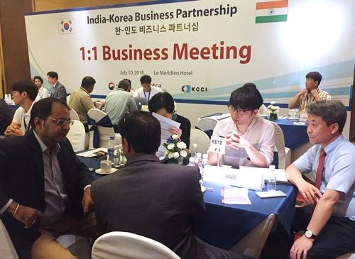 한·인도 비즈니스 파트너십 개최…신남방정책 뒷받침