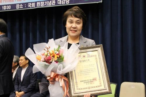 [동정] 정춘숙 의원, 헌정대상 2년 연속 수상