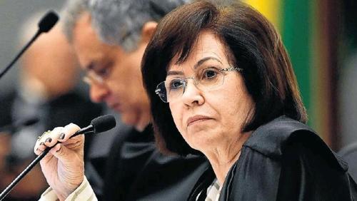 라우리타 바스 연방고등법원장 [브라질 일간지 에스타두 지 상파울루]
