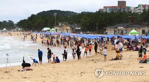 속초해수욕장 [연합뉴스 자료사진]