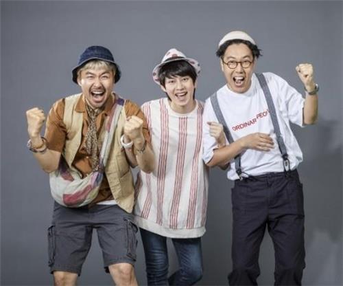 (왼쪽부터) 노홍철, 김희철, 김영철