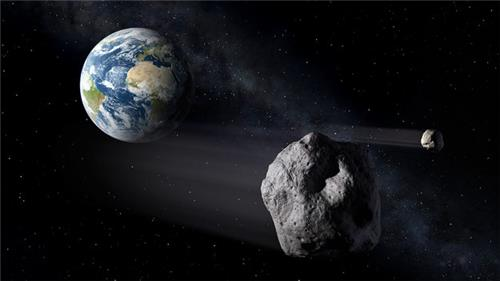 지구 충돌 위협하는 소행성 [자료사진]