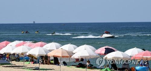 여름 해수욕장. [연합뉴스 자료사진]