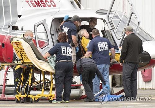 추락한 알래스카 경비행기 탑승자 구조