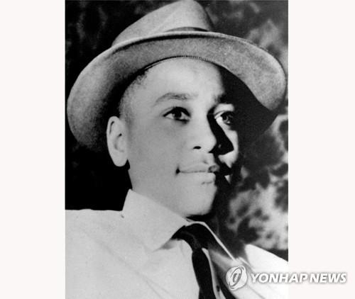 1955년 살해된 흑인 소년 에멧 틸