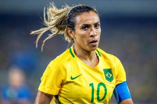 브라질 여자축구의 간판스타 마르타 [브라질 시사주간지 베자]