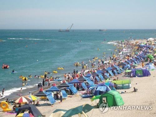 경주 봉길해수욕장[연합뉴스 자료사진]