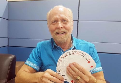 미국 시각장애인 마술사 리차드 터너 씨