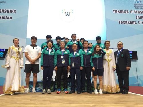 '포스트 장미란' 이선미, 세계청소년대회 우승…한국 학생新 3개