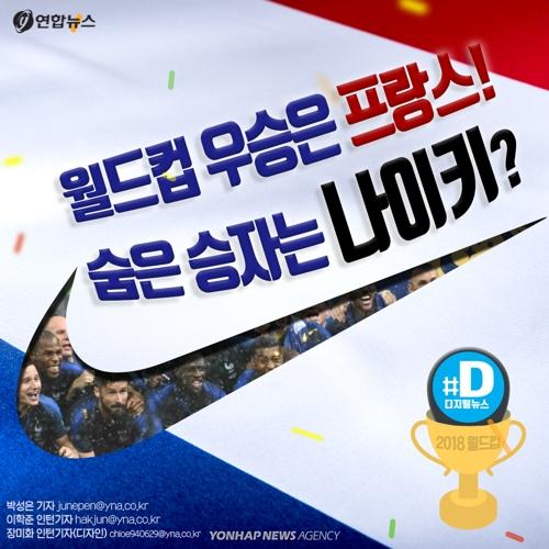[카드뉴스] 월드컵 우승은 프랑스! 숨은 승자는 나이키?