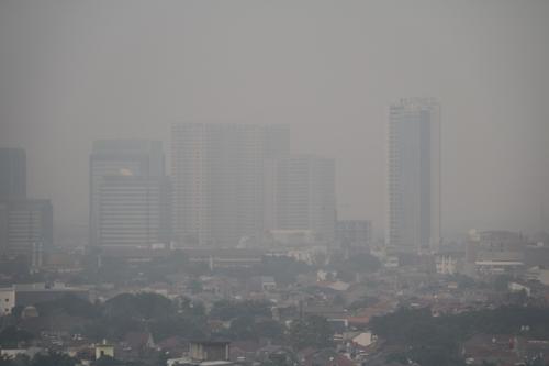 """""""베이징만큼 나쁘다""""…아시안게임 앞둔 자카르타, 대기오염 비상"""