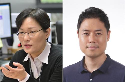 KIST 손지원 박사(왼쪽)와 고려대 심준형 교수