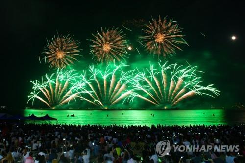 포항 밤하늘 수놓은 닷새간 국제불빛축제 대단원