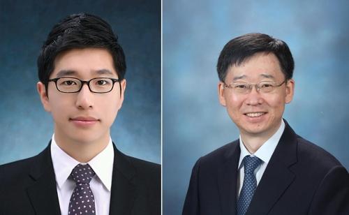 KIST 정승준 박사(왼쪽)와 서울대 이탁희 교수