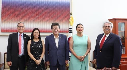 강석호, 멕시코 상원의원단 만나 태평양동맹 가입 협조 당부