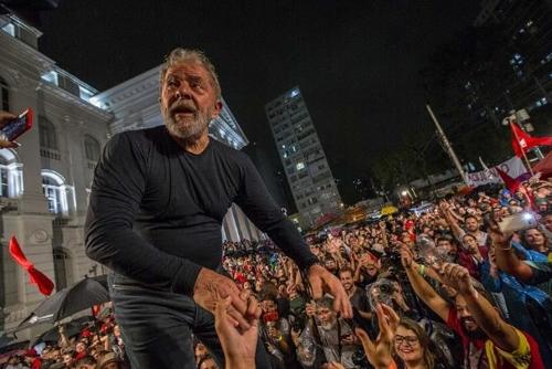 브라질 좌파 노동자당, 룰라 석방 촉구 릴레이 단식 예고