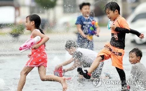 [주말 N 여행] 호남권: 너무 더울 땐 멀리 가지 마세요 도심 한복판 물놀이