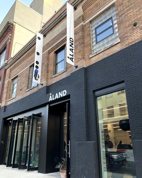 편집숍 에이랜드, 미국 브루클린에 플래그십 스토어 오픈