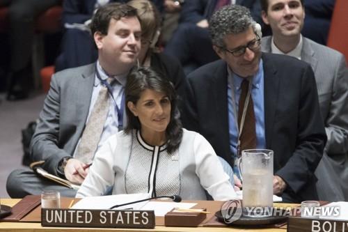 美유엔대사 너무 오래 기다리지 않을 것…北비핵화 압박