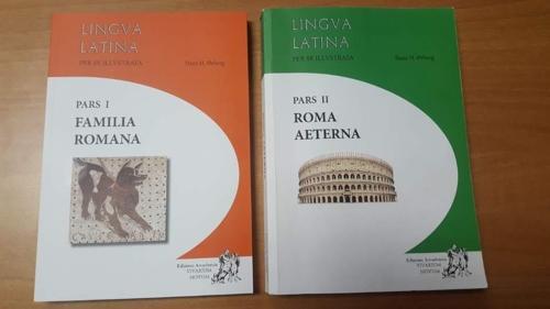 '비바리움'에서 사용하는 라틴어 교재