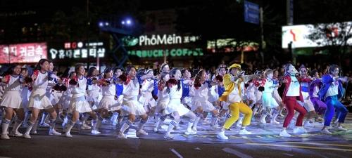 천안흥타령축제 거리퍼레이드
