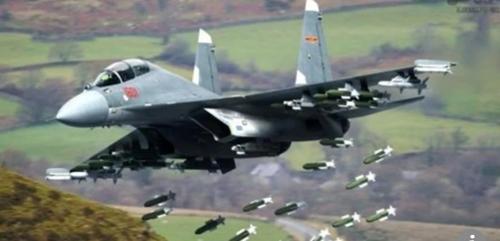 중국의 J-16 전투기