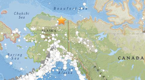 미국 알래스카 6.4 지진 발생