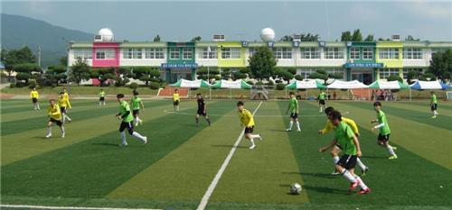 신광면민 친선축구대회