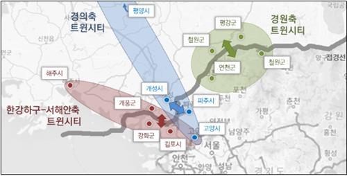 '경기북부-북한 3대 트윈시티 개발'