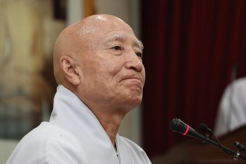 즉각 사퇴 거부 설정 총무원장…16일 중앙종회가 고비