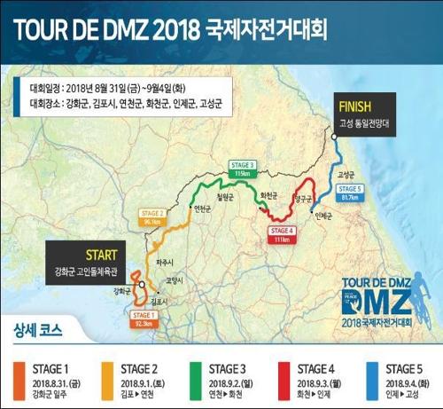세계 청소년, 자전거로 DMZ 달린다…'투르 드 디엠지' 대회
