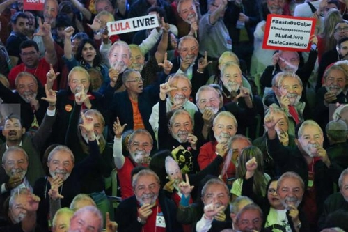 브라질 농민 수천명 수도 브라질리아로 행진…룰라 석방 촉구