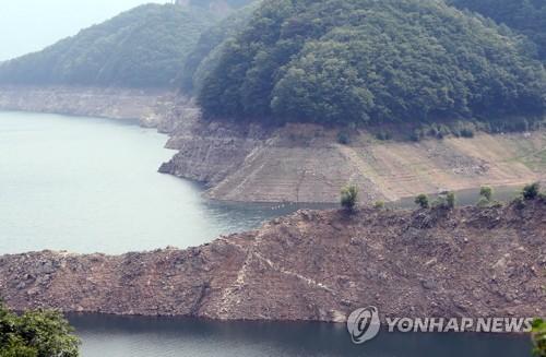 소양강댐 상류[연합뉴스 자료사진]
