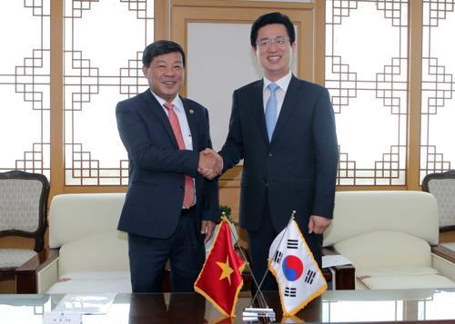 베트남 빈증성 대표단 대전 방문…WTA 행사 준비상황 논의