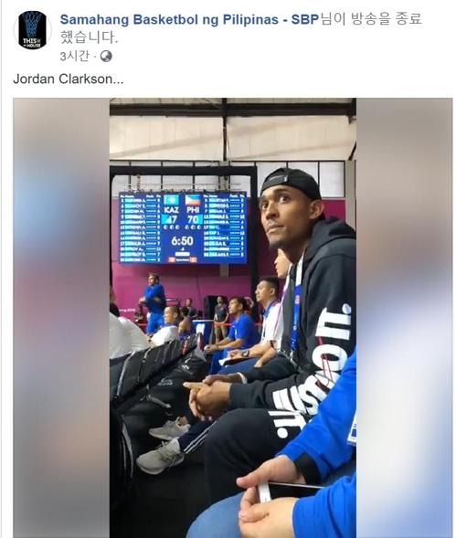 [아시안게임] '필리핀 대표' NBA 가드 클락슨, 자카르타 입성