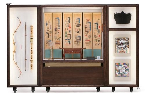 아시안게임서 움직이는 박물관 '한국문화상자' 전시