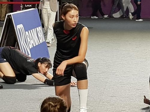 """[아시안게임] 김연경 """"네 번째 AG, 그런데도 설레네요"""""""