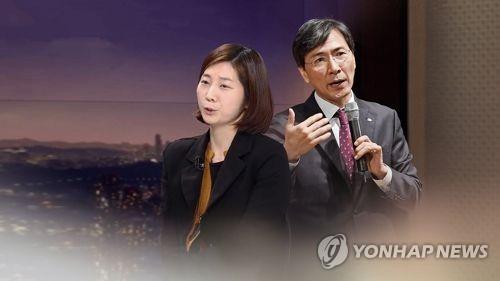 """김지은, 법원 작심비판…""""왜 내게는 묻고 안희정에겐 안 묻나"""""""