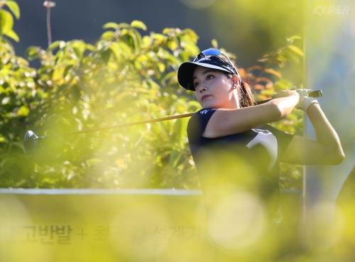 4년 동안 준우승 6번 박결, 보그너 BMN오픈 선두