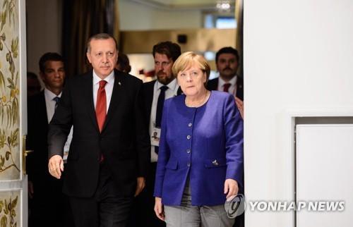'터키 위기 불똥 튀랴'…'인권문제' 날 세우던 독일 태도 변화