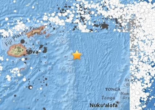 """남태평양 피지 먼바다서 규모 8.2 지진…""""쓰나미 없을 듯"""""""