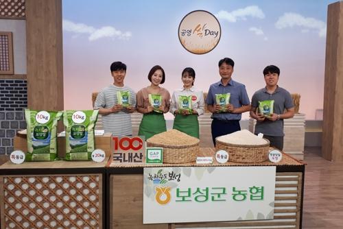 전남 브랜드쌀 공영홈쇼핑 방송…소비자 호평