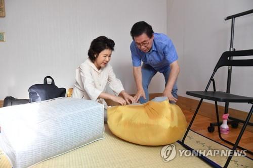 """옥탑방살이 끝낸 박원순 """"경전철·모노레일 등 강북에 집중투자""""(종합)"""
