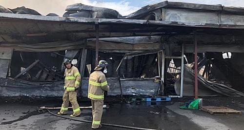 남양주 식자재 창고 불…피해 규모 조사중