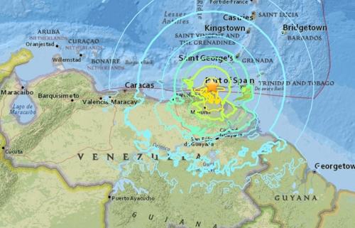 베네수엘라 북동부서 규모 7.3 지진…수도 카라카스 건물도 흔들(종합)