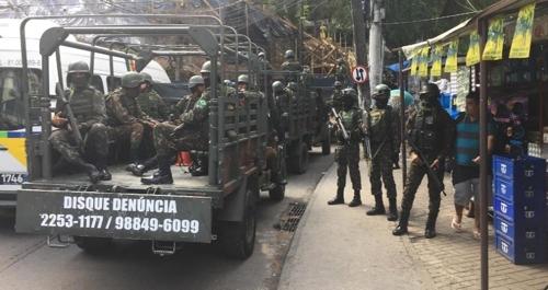 브라질 리우 잇따른 총격전에 군인 사망자 3명으로 늘어