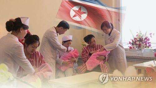 북한 저출산 심각(CG)