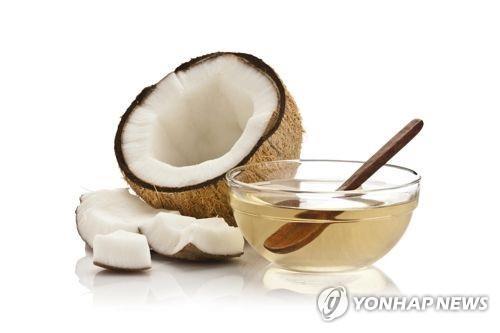 코코넛오일[연합뉴스 자료사진]